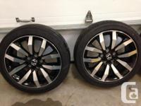 These Rims & Tires Are Off Of A 2013 Civic Touring With