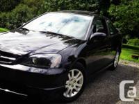2002 Honda Civic Coupe Si V-tech Veloz Edition  Black