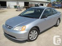 Make. Honda. Design. Civic Coupe. Year. 2003. Colour.