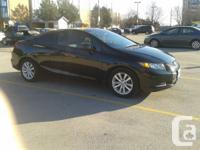 2012 HONDA CIVIC COUPE 2 DOOR - AUTOMATIC IN EXCELLENT