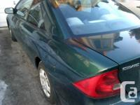 Honda Civic 2001 in excellent condition. This car has
