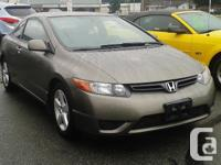 Make. Honda. Model. Civic Coupe. Year. 2008. Colour.