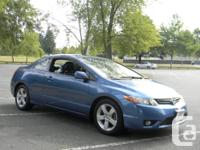 Make. Honda. Model. Civic Coupe. Year. 2007. Colour.