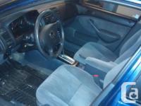 Make. Honda. Design. Civic. Year. 2005. Colour. Blue.
