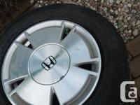 Honda Civic winter & Summer tires 195 65 R15 I have 8