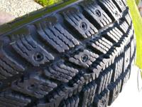 winter tires and rims from 2009 honda civic tires