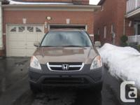 Moving out of city....Honda CR-V 2002 with 149670 km...