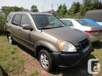Make Honda Model CR-V Year 2004 kms 246000 BEING