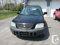 Make Honda Model CR-V Year 1998 Colour black kms