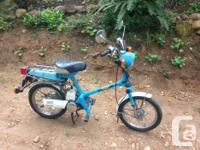 Honda Express 49 cc - 1980 All stock and could be