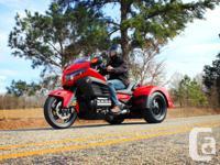 Honda Goldwing 2013 F6B TRIKE Trike Dealer Trike