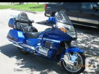 Willing to trade my 1996 Honda Goldwing 1500 for a