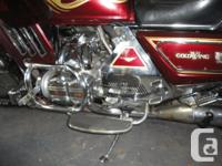 1983 Honda Goldwing Aspencade, GL1100. All chrome