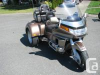 Trike ...1988 Honda Goldwing GL1600cc...has Reverse