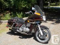 Make Honda Model Goldwing Year 1980 kms 8900 1980 Honda