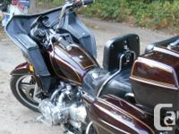 Make Honda Model Goldwing Year 1981 kms 94363 Classic
