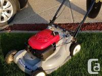 Honda HRB215 BLADE BRAKE CONTROL LAWNMOWER, self