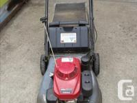 Honda HRC216 Self Propelled Commercial Lawnmower,