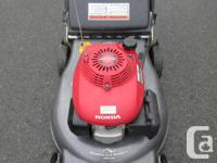 "Honda HRR216, 160cc, 21"" cutting width, twin blade,"