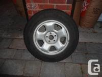 Honda Pilot 245 65 17 Winter Tires and Rims and TPMS