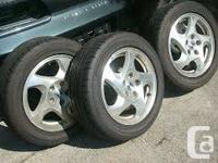 4 Fuzion tires about 60%  tread pretty good shape rims