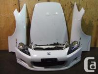 JDM honda S2000 FRONT END NOSE CUT FOR SALE we have in