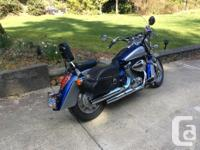 Make Honda Model Shadow Year 2009 kms 11000 Mint