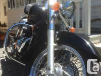 Make Honda Model Shadow Year 2005 kms 29000 Selling my