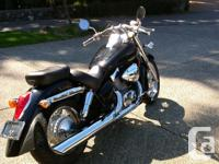 2004 Honda Shadow Aero 750, shaft drive with new rubber