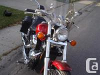 Make Honda Model Shadow Year 2007 kms 5000 Beautiful