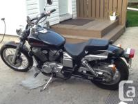 2002 Honda Shadow Spirit, 750. In excellent condition.