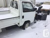 Make Honda Model Acty Year 1994 Colour White kms 90000