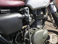 Make Honda Year 1973 kms 8000 Fun around town, capable
