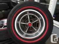 4 Magnum rims and tires in excellent problem. 2 195 75