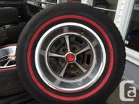 4 Magnum rims and tires in excellent problem. 2 195 75