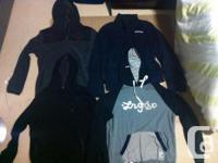 The hoodies: UPDATE: Lrg hoodie has actually been