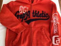 3 GAP hoodies (size 8 - 12) 1 Tommy Hilfiger hoodie