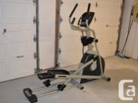 Horizon CE5.2 Elliptical Trainer complete with a sonic