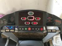 Horizon Fitness Treadmill Great shape, works well we