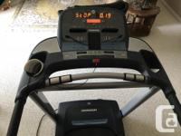 Horizon CT5.1 treadmill. Excellent condition and