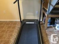 Horizon CT81 electric treadmill in excellent condition.