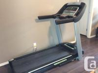 Horizon Treadmill; Bought new from Canadian Tire around