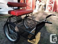 Check out this nice 2 wheel cart. It has never been
