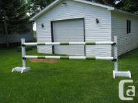 HorseJumps of all kinds, Hunter or Jumper design, also