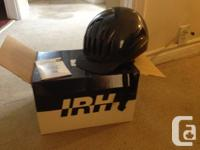 IRH riding helmet, size medium, navy.  Great condition,