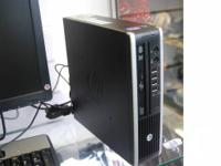 This is a new HP Compaq 8300 Elite Ultra. Slim Desktop.