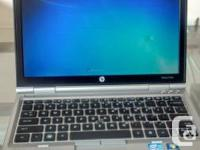 "Scratchless New LOOK HP EliteBook 2560p 12"" (320 GB,"