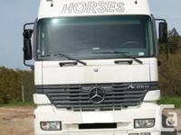 Type of business: Horse Truck for sale Truck Type: