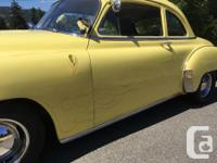 Make Chevrolet Year 1950 Colour Yellow Trans Automatic