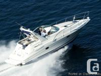 DORAL 300SE Very Nice Mid-Cabin Cruiser Great